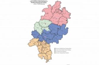 Überregionale Beratungs- und Förderzentren für Schülerinnen und Schüler mit dem Förderschwerpunkt Sehen in Hessen