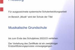 """Hessen hat 18 neue """"Musikalische Grundschulen"""""""