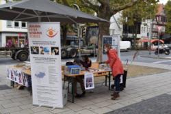 """JPSS mit Informationsstand zur """"Internationalen Woche des Sehens"""""""